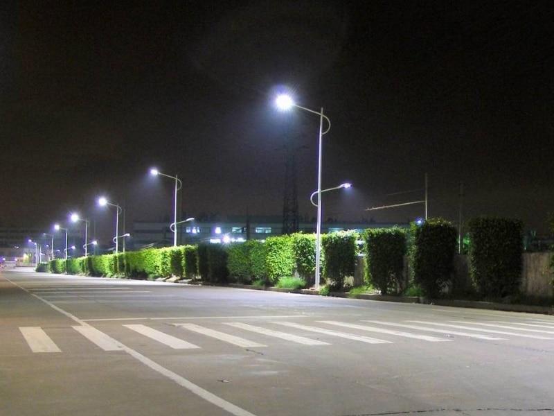 Уличный консольный светильник