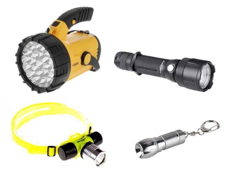 Купить ручной фонарь
