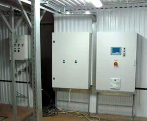 Шкаф управления системой отопления