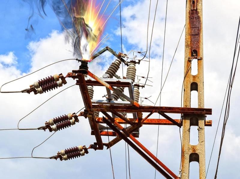 Повреждения в электроустановках